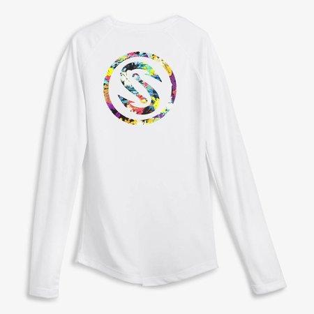 Scales Women's Pro Perfomance Shirt White