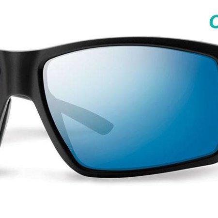 Smith Optics Colson Matte Black Pol Blue Mirror