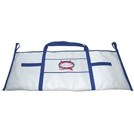 Fish Bag-White & Blue, Insulated Raw Accessories USA RASWFBKFWB King