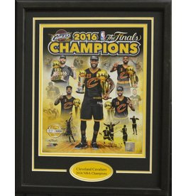 CLEVELAND CAVALIERS 2016 NBA CHAMPIONS COMPOSITE 11X14 FRAME