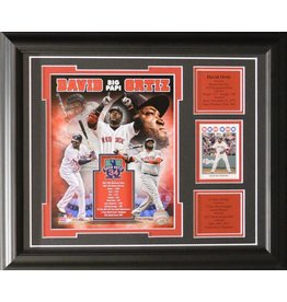 DAVID ORTIZ 13X16 FRAME - BOSTON RED SOX