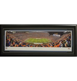 DENVER BRONCOS SPORTS AUTHORITY FIELD AT MILE HIGH PANORAMA 16X42 FRAME