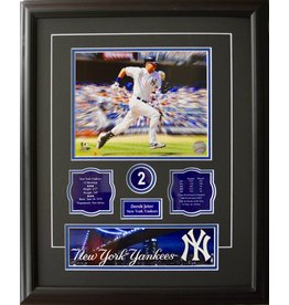 DEREK JETER 16X20 FRAME - NEW YORK YANKEES