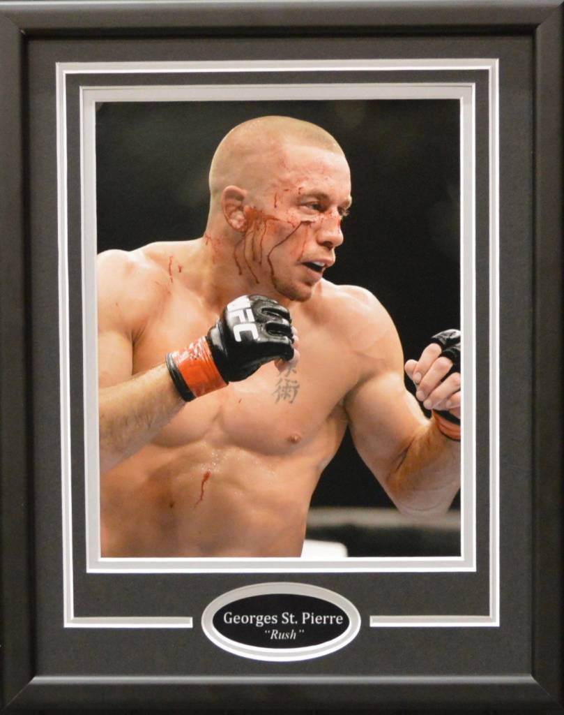 GEORGES ST. PIERRE 11X14 FRAME