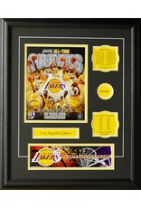 LOS ANGELES LAKERS ALL-TIME GREATS 16X20 FRAME