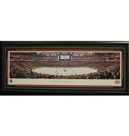 MONTREAL CANADIENS BELL CENTRE PANORAMA 16X42 FRAME