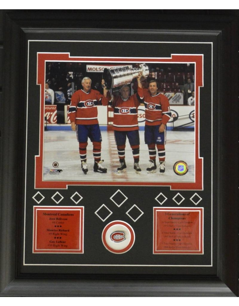 MONTREAL TRILOGY 13X16 FRAME - MONTREAL CANADIENS