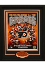 PHILADELPHIA FLYERS ALL-TIME GREATS 11X14 FRAME