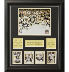 PITTSBURGH PENGUINS 2016 STANLEY CUP CHAMPIONS 16X20 FRAME