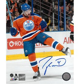 TAYLOR HALL AUTOGRAPHED 8X10 PHOTO