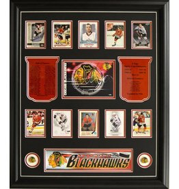 TEAM HISTORY - CHICAGO BLACKHAWKS 20X24 FRAME