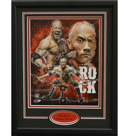 THE ROCK DWAYNE JOHNSON 11X14 FRAME