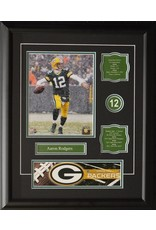 AARON RODGERS 16X20 FRAME - GREEN BAY PACKERS