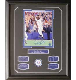 JOE CARTER AUTOGRAPH 16X20 FRAME - TORONTO BLUE JAYS