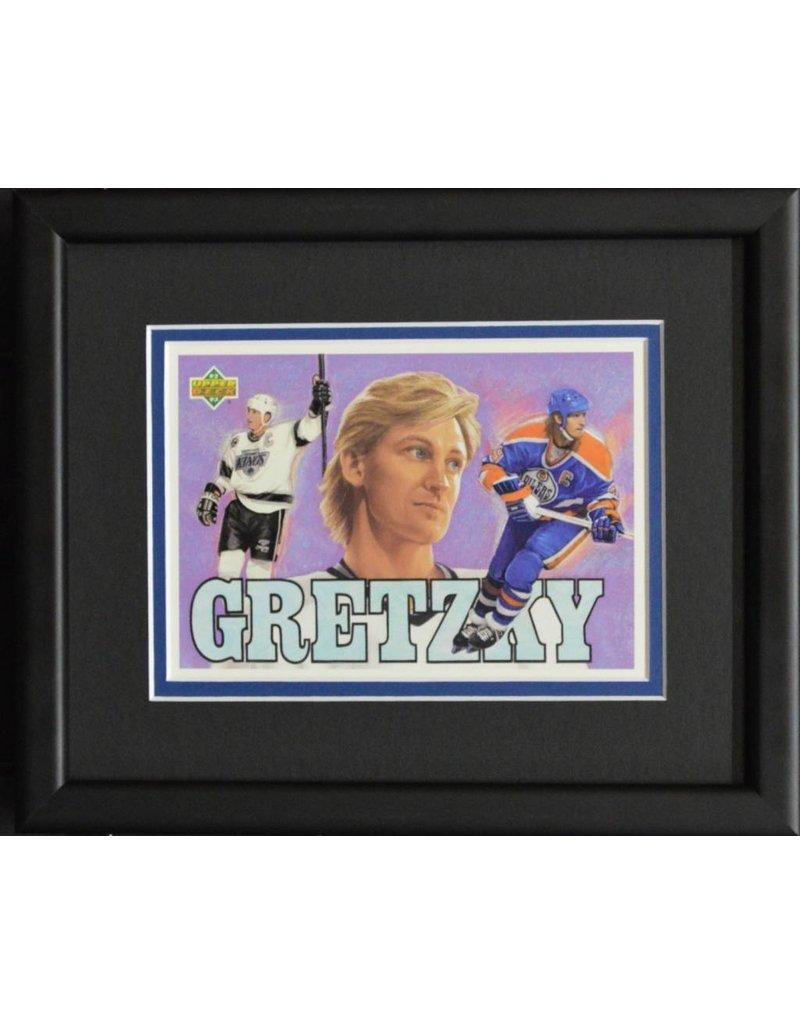 WAYNE GRETZKY 8X10 FRAME - EDMONTON/LOS ANGELES