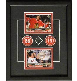 TOEWS & KANE 8X10 FRAME - CHICAGO BLACKHAWKS