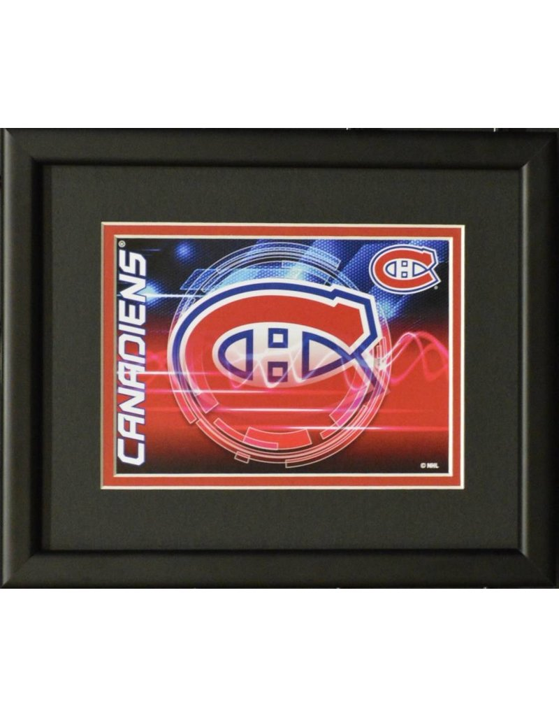 MONTREAL CANADIENS LOGO - 8X10 FRAME