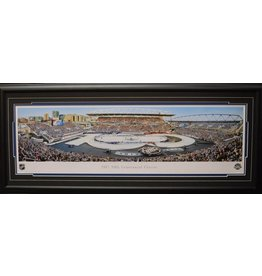 CENTENNIAL CLASSIC 2017 TORONTO MAPLE LEAFS PANORAMA 16X42 FRAME