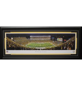 PITTSBURGH STEELERS HEINZ FIELD PANORAMA 16X42 FRAME