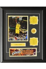 LEBRON JAMES 16X20 FRAME - CLEVELAND CAVALIERS