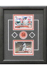DAVID ORTIZ 8X10 FRAME - BOSTON RED SOX