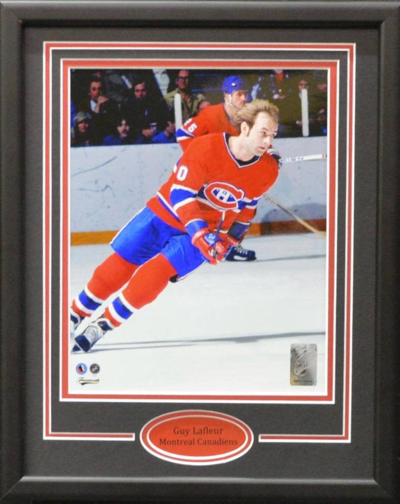 GUY LAFLEUR 11X14 FRAME - MONTREAL CANADIENS