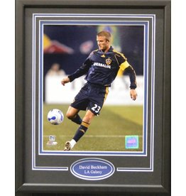 DAVID BECKHAM 11X14 FRAME - LA GALAXY