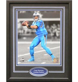 CAM NEWTON 11X14 FRAME - CAROLINA PANTHERS