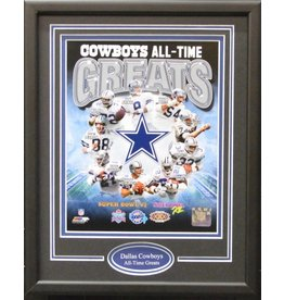 DALLAS COWBOYS ALL-TIME GREATS 11X14 FRAME