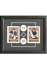 CROSBY & MALKIN 8X10 FRAME - PITTSBURGH PENGUINS