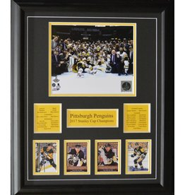 PITTSBURGH PENGUINS 2017 STANLEY CUP CHAMPIONS 16X20 FRAME