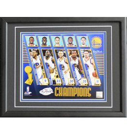 GOLDEN STATE WARRIORS 2017 NBA CHAMPIONS - 11X14 FRAME