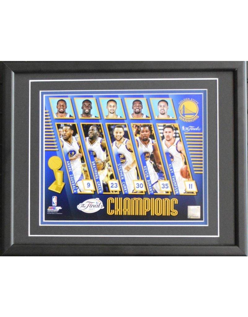 GOLDEN STATE WARRIORS 2017 NBA CHAMPIONS - 11X14 FRAME