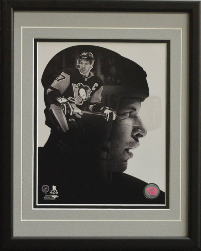 SIDNEY CROSBY 11X14 FRAME - PITTSBURGH PENGUINS
