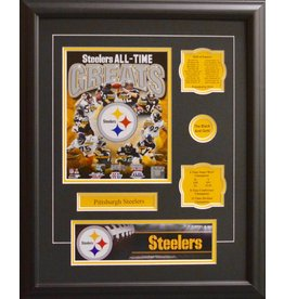 PITTSBURGH STEELERS ALL-TIME GREATS 16X20 FRAME