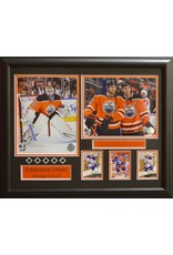 "EDMONTON OILERS ""ORANGE CRUSH"" 16X20 FRAME"