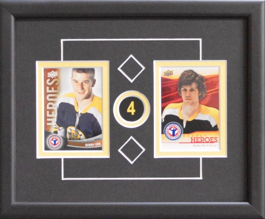 BOBBY ORR 8X10 FRAME - BOSTON BRUINS - AJW Sportscards