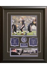 TOM BRADY - 16X20 FRAME NEW ENGLAND PATRIOTS