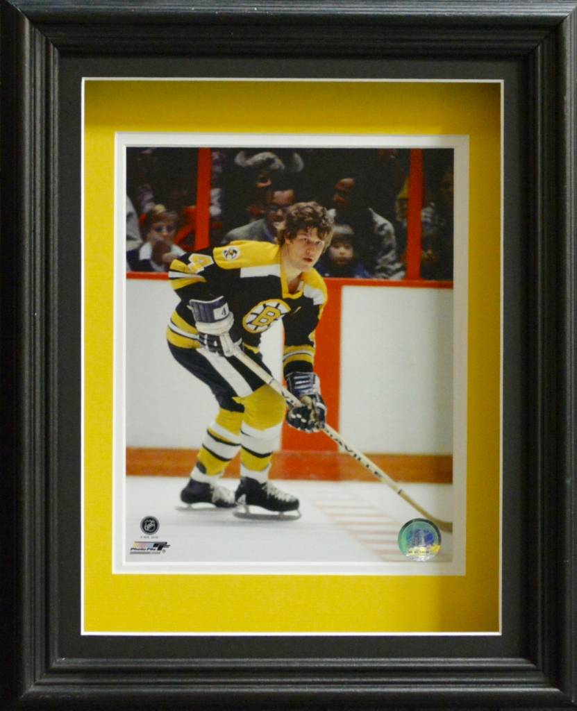 BOBBY ORR 11X14 SHADOW BOX - BOSTON BRUINS