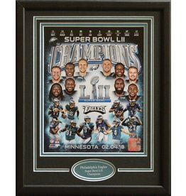PHILADELPHIA EAGLES SUPER BOWL LII 11X14 FRAME