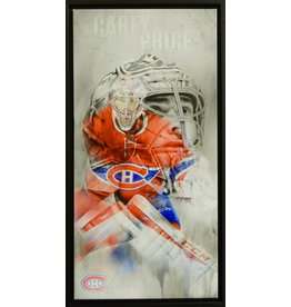 CAREY PRICE 14X28 FRAMED CANVAS - MONTREAL CANADIENS