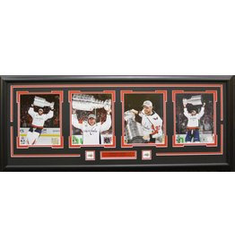 WASHINGTON CAPITALS 2018 STANLEY CUP CHAMPIONS - 4 PHOTO 16X42 FRAME