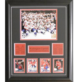WASHINGTON CAPITALS 2018 STANLEY CUP CHAMPIONS 16X20 FRAME