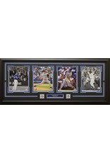 TORONTO BLUE JAYS ALL-TIME GREATS 4 PHOTO 16X42 FRAME