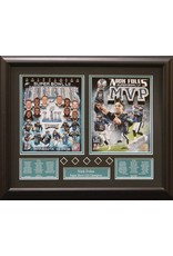 PHILADELPHIA EAGLES SUPER BOWL LII - NICK FOLES 16X20 FRAME