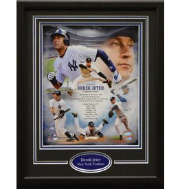 DEREK JETER 11X14 FRAME - NEW YORK YANKEES