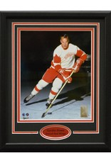 GORDIE HOWE 11X14 FRAME - DETROIT RED WINGS