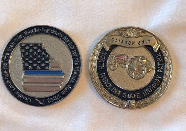 Georgia/NCTA Caisson Unit fundraising Coin