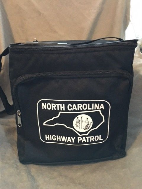 24-can Cooler Bag - Black Patch