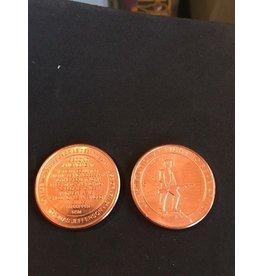 Copper Coin - Second Amendment